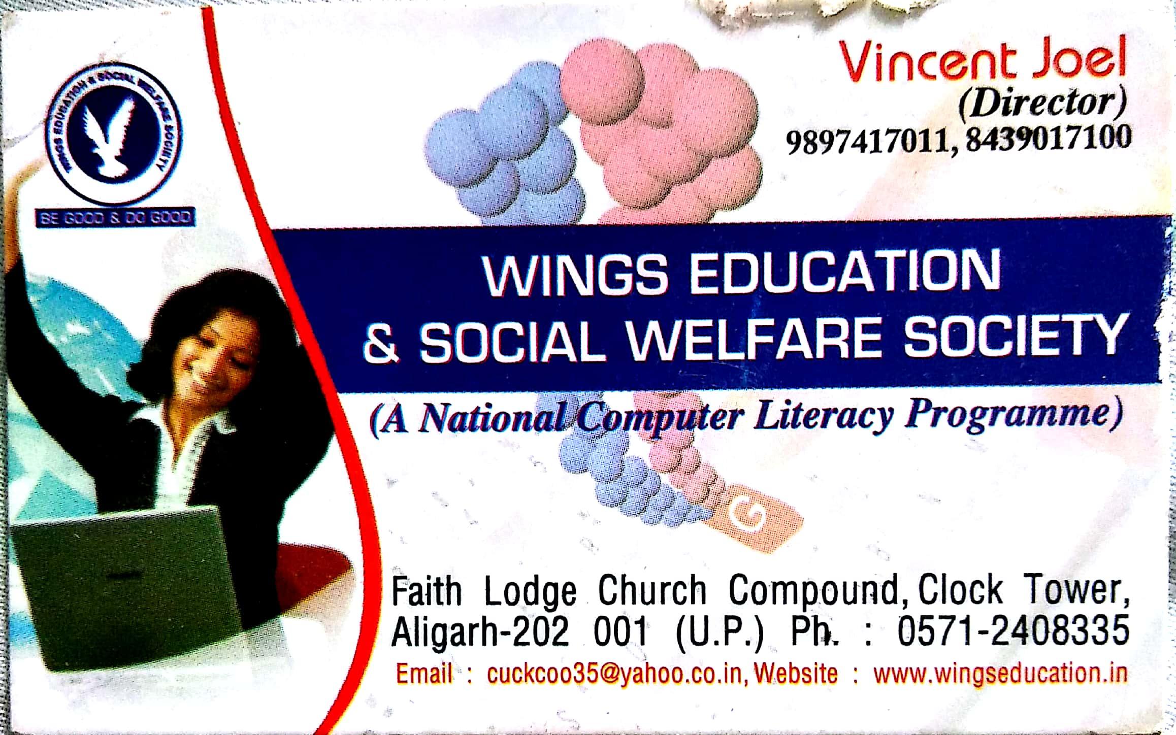 WINGS EDUCATION & SOCIAL WELFARE SOCIETY| BEST WELFARE SOCIETY IN ALIGARH FAINS-BAZAAR